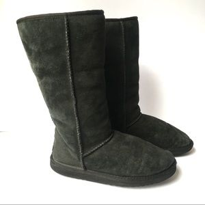 UGG Black Classic Tall Suede Boots